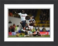 Tottenham Hotspur v Burnley - Premier League - LONDON, ENGLAND - DECEMBER 18: Moussa - Photo Prints - 13190164 - Tottenham Hotspur
