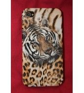 Tiger Head iPhone case This very popular Tiger head iPhone for 4 4g 4s Hard cover case, it has a Smooth surface yet not slippery, it helps protect your iPhone from scratches and is a great funky Design,