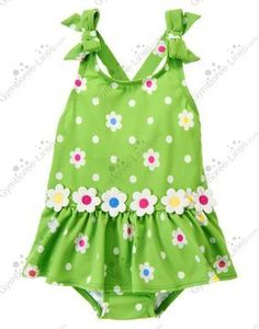 NWT Gymboree Flower Dot One-Piece Swimsuit - Size 2T - $15 shipped
