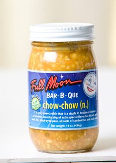 Our organic Chow Chow is gluten free (and tastes good, too).