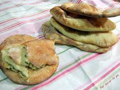 Per sucar-hi pa: Pan Naan Veggie Recipes, Healthy Recipes, Comida India, Healthy Nutrition, Vegan Vegetarian, Bakery, Food Porn, Food And Drink, Veggies