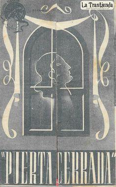 Puerta Cerrada - Programa de Cine - Libertad Lamarque - Agustin Irusta Chalkboard Quotes, Art Quotes, Old Books, Closed Doors, Brochures, Trading Cards, Antigua