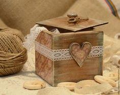 """Короб """"Vintage"""" - короб,коробочка,коробка,короб для хранения,короб декупаж"""