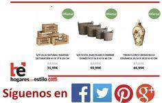 Hoy más #ofertas en hogaresconestilo.com #home #hogar #estilo #deco #decoración