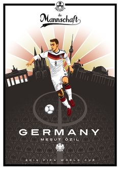 Collection of posters presenting 2014 FIFA World Cup participants World Cup Russia 2018, World Cup 2014, Fifa World Cup, Arsenal Fc, Lionel Messi, Soccer Drawing, German National Team, Germany Football, Messi Soccer