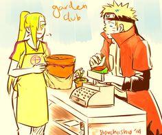 Naruto and Ino / NaruIno Anime Naruto, Hinata, Naruto Shippuden, Naruto Couples, Naruto Girls, Female Characters, Fictional Characters, The Big Four, Garden Club