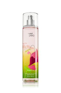 Sweet Pea Fine Fragrance Mist - Signature Collection - Bath & Body Works| I love thisss
