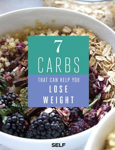 Rejoice: if you're hoping to lose weight, certain carbohydrates can help you do it. Even though it may not seem like it, there ~is~ such a thing as healthy carbs.