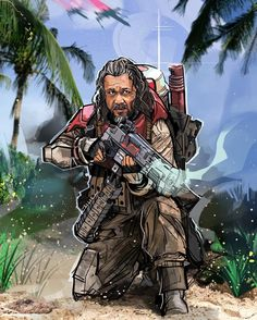 Murray - O Armeiro - (Super Atirador) Star Wars Love, Star Wars Day, Star Wars Clone Wars, Chirrut And Baze, Star Wars Quotes, Star Wars Wallpaper, The Force Is Strong, First Art, Love Stars
