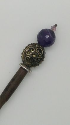 Hair sticks for sale - wooden hair sticks - hairsticks - gold hair sticks - beaded hair stick - hair stick purple - hairstick purple Geek Gifts For Him, Best Gifts For Men, Gifts For Her, New Boyfriend Gifts, Best Groomsmen Gifts, Groomsman Gifts, Mens Silver Necklace, Trendy Jewelry, Fine Jewelry
