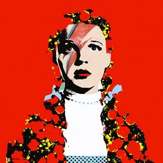 The Prettiest Star. Dorothy Gale David Bowie print. by RoboticEwe