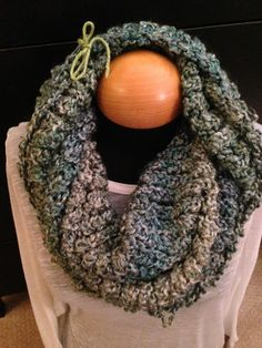 Handmade knit infinity winter scarf - Regency.  By: Scarves by Chelsey  #knit #infinity #scarf #handmade #scarves #winter #warm #fashion  www.facebook.com/scarvesbychelsey Check us out on Etsy!