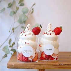 Dessert Drinks, Dessert Recipes, Cute Desserts, Cafe Food, Food Drawing, Soft Serve, Cupcakes, Aesthetic Food, Sweet Treats