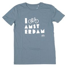 I Bike Amsterdam Citadel Blue T-shirt
