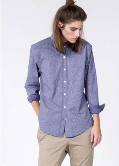The Ultimate WF Speckle Button Up