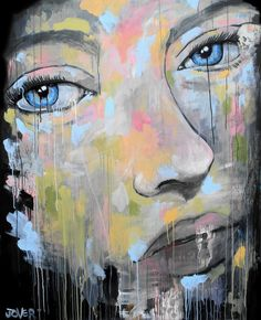 "Saatchi Online Artist: Loui Jover; Acrylic, 2013, Painting ""levels (canvas)"""