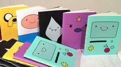 Adventure Time Pocket Sketchbooks by IWantBerks on Etsy