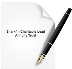 The sharkfin charitable lead annuity trust allows for small payments to be made into a charitable lead annuity trust for the first few years of the trust term, but a very large payment must be made into the trust in the last year or two. www.yelp.com/biz/mobile-austin-notary-austin-2