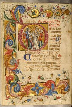 Zanino di Pietro - Leaf from Book of Hours - Walters W32285V - Open Reverse.jpg