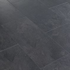 Black Slate Tile Effect Laminate Flooring Diy Home Design