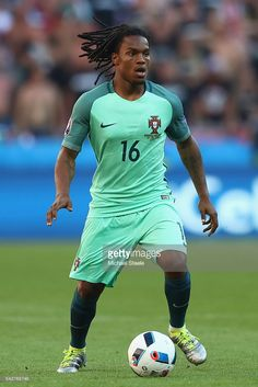 Renato Sanches of Portugal during the UEFA EURO 2016 Group F match between Hungary and Portugal at Stade des Lumieres on June 22,…