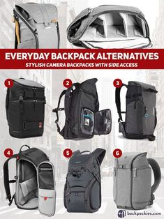 Peak Design Everyday Backpack Alternative - Our Top Picks #PopularTravelGear