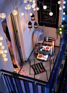 Small Balcony Makeover | Balconi, Terrazzo e Terrazze