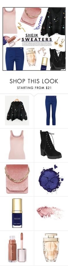 """SHEIN sweaters!!"" by jckallan ❤ liked on Polyvore featuring Mira Mikati, La Perla, Cafuné, Pat McGrath, Dolce&Gabbana and Cartier"