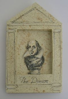 'The Dream' ; 'Works on Paper' exhibition during Aldeburgh Festival Festival 2017, Twelfth Night, William Shakespeare, Studio, Paper, Frame, Projects, Life, Decor