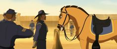Screencap Gallery for Spirit: Stallion of the Cimarron Bluray, Dreamworks). The mustang stallion Spirit grows up to proudly succeed his father as leader of the Cimarron herd in the unspoiled Wild West. Dreamworks Animation Skg, Horse Animation, Rain Animation, Spirit The Horse, Spirit And Rain, Erza Et Jellal, Spirit Drawing, Pinturas Disney, Childhood Movies