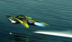 concept ships: Concept racer ships by Al Brady