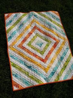 quilt - love the pattern and colors by Dorey's Designs