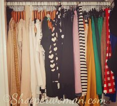 The Wardrobe Challenge - So doing this!