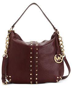 MICHAEL Michael Kors Handbag, Astor Uptown Large Shoulder Bag - MICHAEL Michael Kors - Handbags & Accessories - Macy's