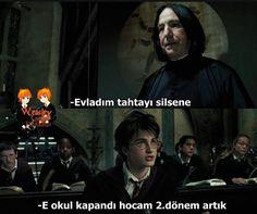 Gülümse 😉😉 #hayrankurgu # Hayran Kurgu # amreading # books # wattpad Harry Potter Severus, Harry Potter Cast, Dark Fantasy Art, Series Movies, Hogwarts, It Cast, Film, Reading, Funny