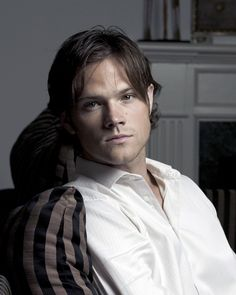 Because Jared Padalecki is being serious. This is a rare moment.