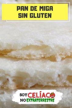 Con esta receta vas a poder preparar un riquísimo pan de miga que, además de rico, es muy fácil de preparar. #Pan #PanSinGluten #SinGluten #GlutenFree #SinGluten #SinTacc #Celiaquía Pan Sin Gluten, Gluten Free, Tortillas, Breads, Food, Gluten Free Living, Gluten Free Foods, Lactose Free, Healthy