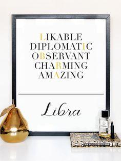 Libra Description Print