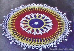 Rangoli Dot Picture Design