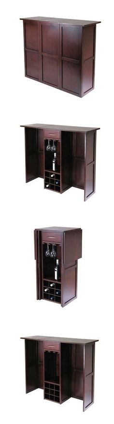 home pubs and bars liquor storage cabinet furniture dry bar and wine mini home modern stemware rack u003e buy it now only on ebay
