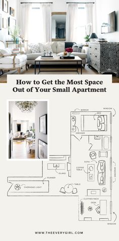 how to get the most space out of your small apartment