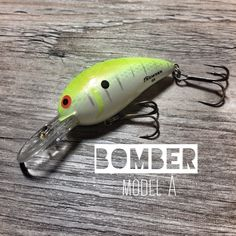 bomber model a crankbait - 1/2 / baby bass orange | products, Hard Baits