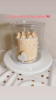 Mini drip cake