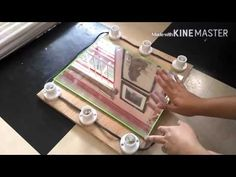 DIY vanity mirror - YouTube