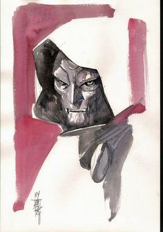Dr Doom by Alex Maleev