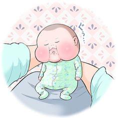眼福…ぷにっぷに赤ちゃんの、超愛しい瞬間。うちの子もこの顔する〜!   Conobie[コノビー] Baby Cartoon, Smurfs, Disney Characters, Fictional Characters, Cinderella, Photo And Video, Disney Princess, Cute, Kids