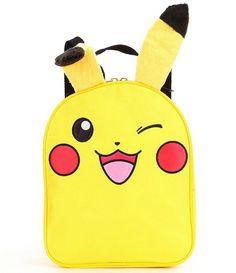 "Pokemon Pikachu 10"" Inches Mini Small Backpack Bag"