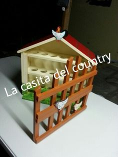 Huevera Pintura Country, Toy Chest, Maya, Projects To Try, Furniture, Vintage, Home Decor, Crafts, Wood Crafts