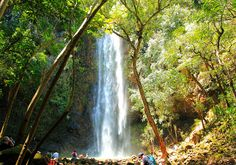Secret Falls - Kaapa, Kauai (can only be reached by kayaking 2 miles then hiking 1 mile)