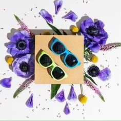 Our awesome baby sunglasses and kids sunglasses come with UV Protection. Baby Sunglasses, Spring Time, Bloom, Canada, Bright, Fun, Eyes, Instagram, Cat Eyes
